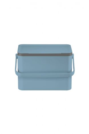 EKO Deco Food Waste Caddy 4L - Titanium Blue (EK6010)